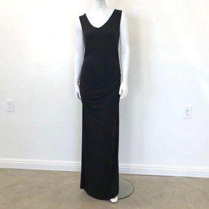 Kimi & Kai Sleeveless Lace Maternity Maxi Dress